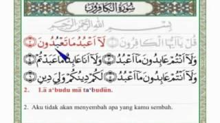 Qs 1096 Surah 109 Ayat 6 Qs Al Kaafiruun Tafsir Alquran