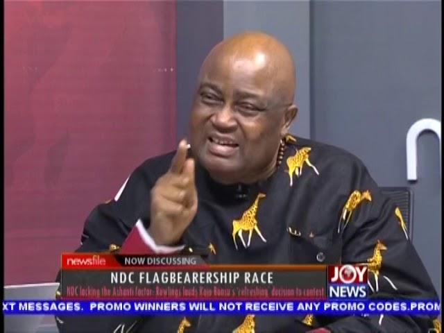 NDC Flagbearership Race - Newsfile on JoyNews (13-10-18)