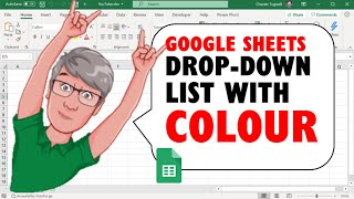 Add Colour to a Drop-down List in Google Sheets Using Conditional Formatting