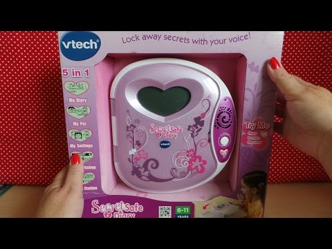 Vtech Voice Control LCD Secret Safe 5 in 1 Diary