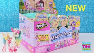 Happy Places Shopkins Series 4 Stable Petkins Blind Bag Toy Review | PSToyReviews