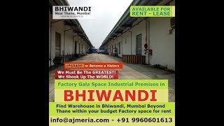 Bhiwandi Factory Gala Space Low Cost Industrial Premises Shed Rcc Offering