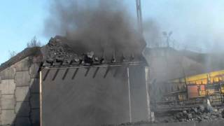 Coldmist - dust suppression at coal loading facility