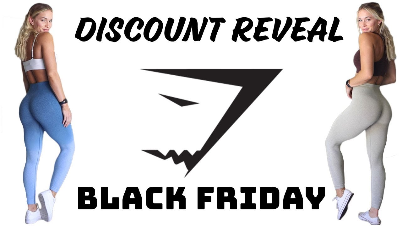 GYMSHARK EARLY BLACK FRIDAY SALE | DISCOUNT REVEAL + TOP OUTFIT PICKS