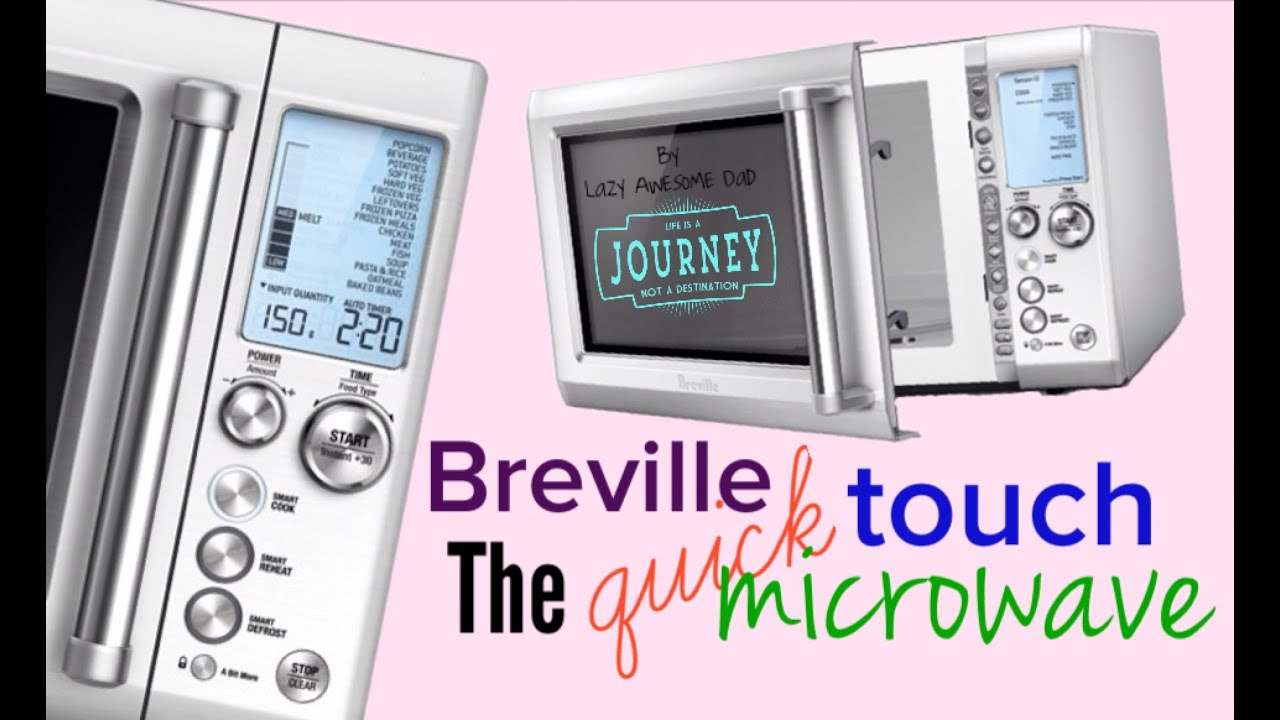 Breville The Quick Touch Smart Microwave Oven Stainless Unboxing Sage By Heston Blumenthal Bmo734