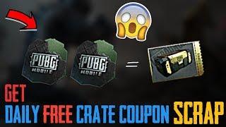 Crate coupon scrap pubg