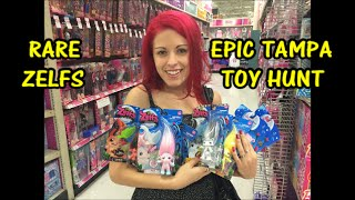 Toy Hunting Tampa RARE ZELFS and Toy Haul