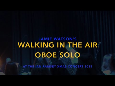 Walking in the air at the Ian Ramsey Xmas Concert 2015