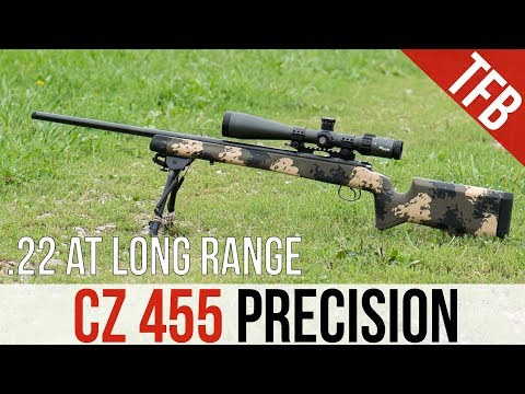 How Far Is  22LR Effective? (Featuring the CZ 455) - YouTube