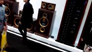HiVi/Swan Speakers, Crazy, Over The Top, and Vintage Look CES 2016