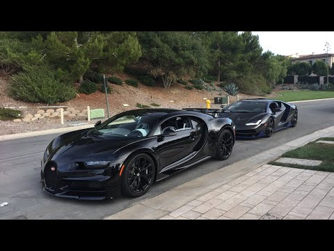 The $3.5Million Bugatti Chiron ft. the Lamborghini Centenario