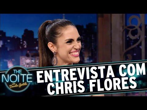Entrevista com Chris Flores | The Noite (07/03/17)