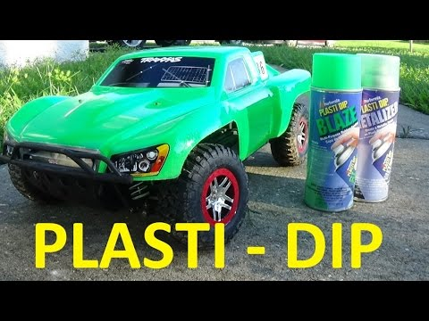 How To Plasti Dip Your Rc Car Body Youtube
