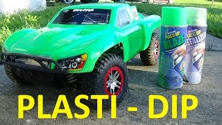 HOW TO PLASTI DIP YOUR RC CAR BODY