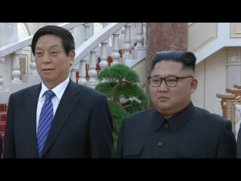 Chinese envoy meets Kim, hands over a letter from Chinese president