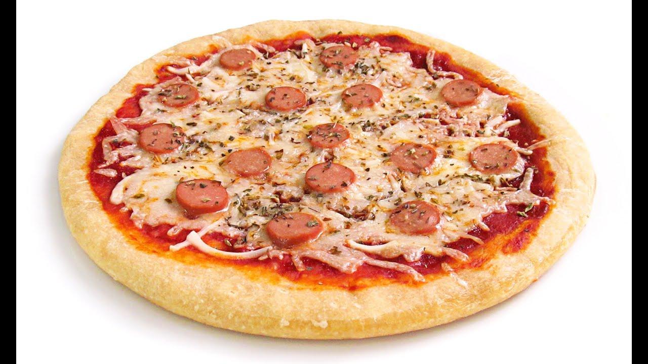 Pizza SIN HORNO Muy Crujiente!!
