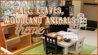 Fall - Leaves - Woodland Animals Theme