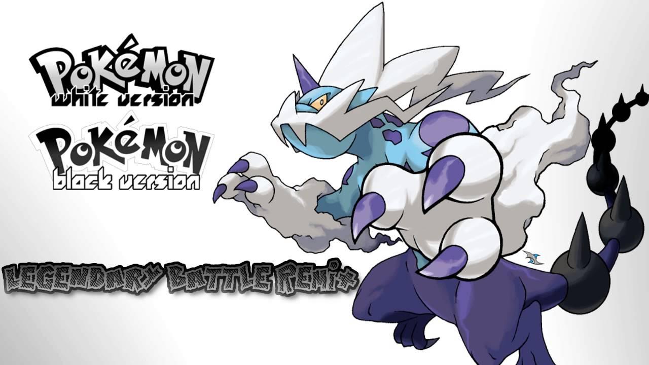 Pokemon Black and White [B&W] Unova Legendary Battle Theme ... Legendary Pokemon Black And White