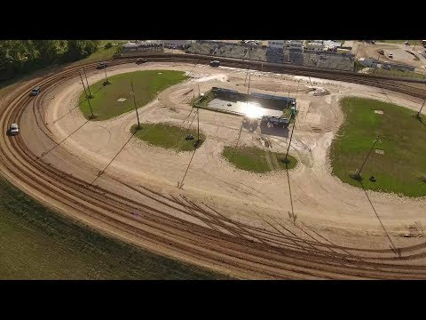 Fly over at Crystal Motor Speedway, Michigan on 08-31-2019!!