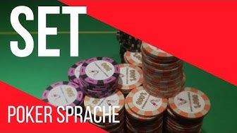 Poker Set  - Poker Begriffe erklärt – Casino und online Texas Holdem Sprache lernen