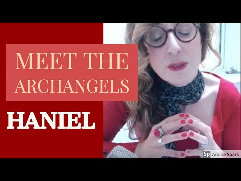 Archangel Haniel ♦️ Ruby Red Meditation For Courage & Strength ♦️Soft Speaking Spiritual ASMR