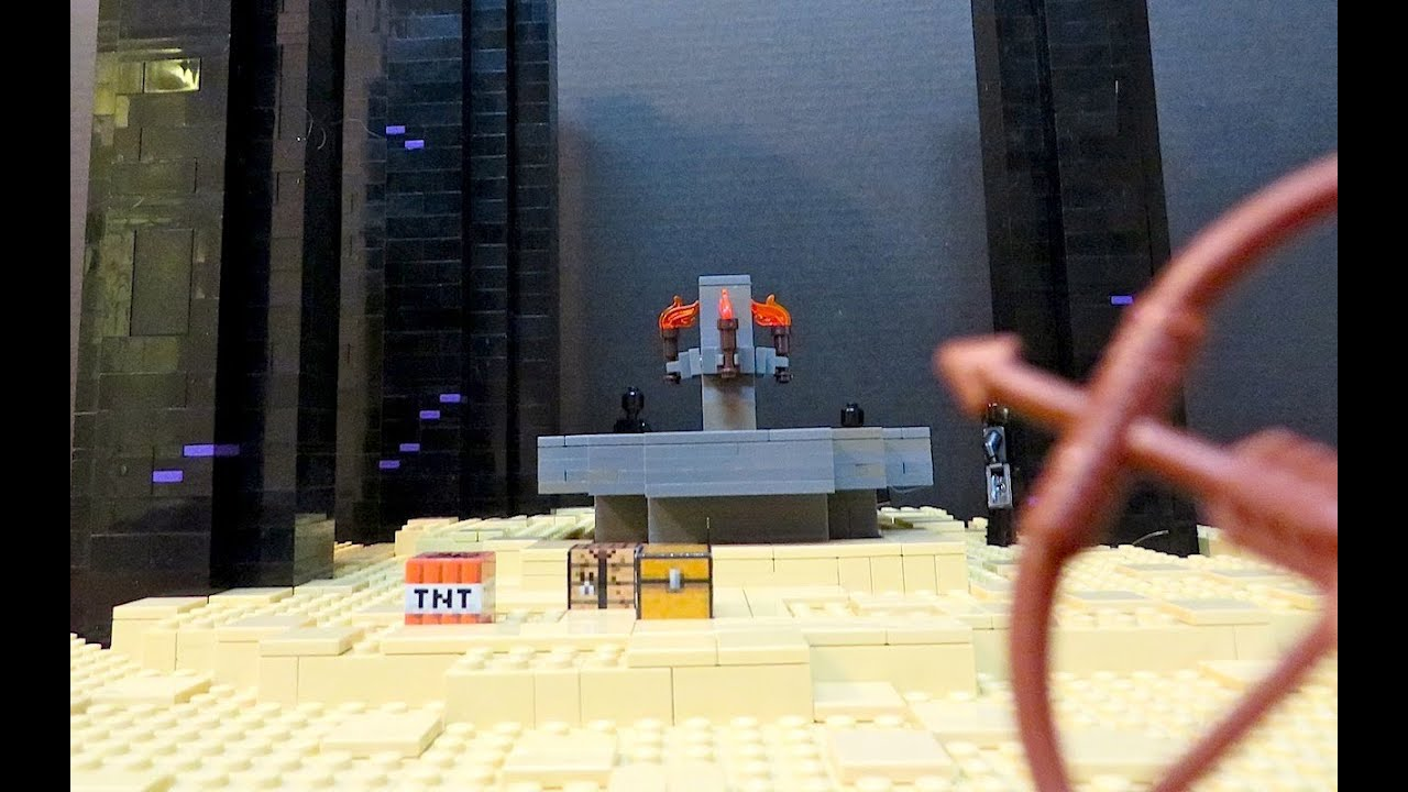 Images Of Lego Minecraft Ender Portal Spacehero 21124 The End Youtube