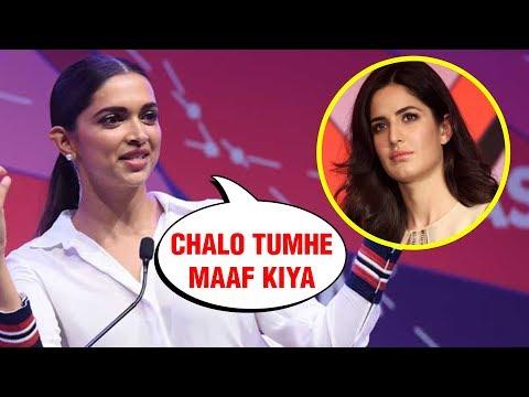 Deepika Padukone FORGIVES Katrina Kaif, Invites Her For Wedding Reception
