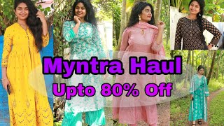 🔥Myntra Haul Upto 80 % Off _ End Of the Reason Sale _Kerala Beauty Vlogger|Myntra EORS SALE