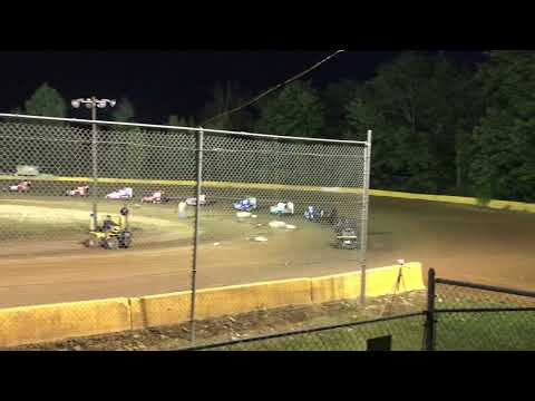 Feature race. 3rd place finish at Hamlin Speedway 8/10/19
