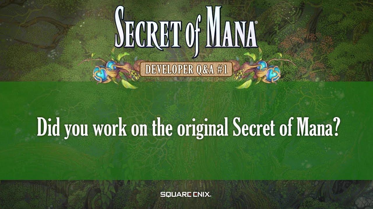 Secret of Mana Q\u0026A #1 - Did you work on the original SoM?