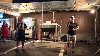 2018年7月21日(土)うちわ祭り エレクトーンライブ この夜を止めてよ.