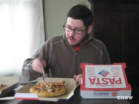Supertaster - Domino\'s Bread Bowl Pasta - YouTube