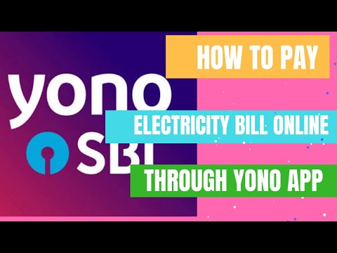 How to pay electricity bill online through yono app