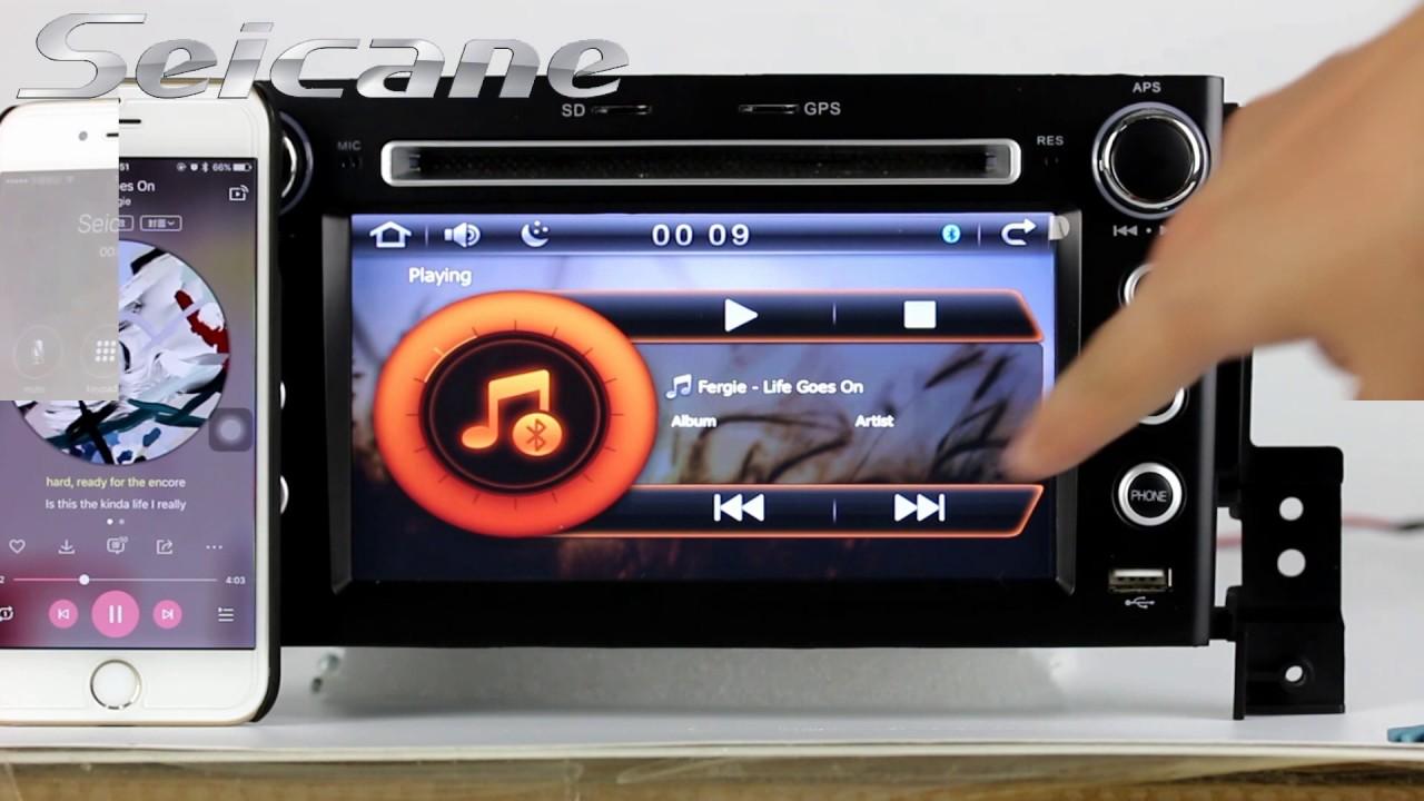 upgrade 2005 2013 suzuki grand vitara bluetooth dvd gps radio head rh youtube com Suzuki Auto Stereos Suzuki Verona Radio Code
