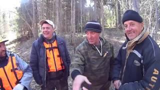 Нашли лодку с мотором в лесу и КУНГ(Сплавляясь по Койве-Чусовой, встали на зеленую стоянку, и нашли на пригорке лодку с мотором... продолжение..., 2016-05-10T14:46:20.000Z)