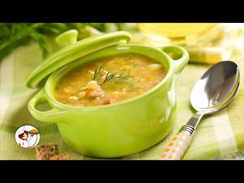 Постный гороховый суп. Очень вкусный и питательный супчик.
