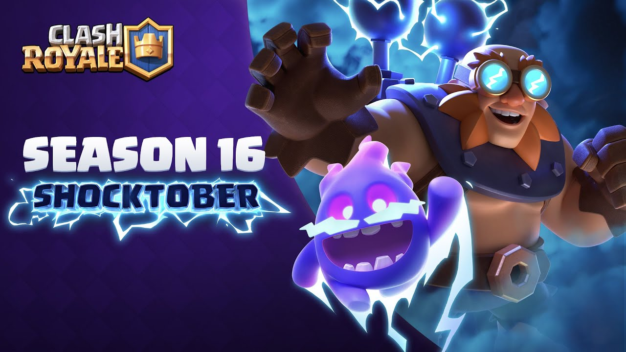 Clash Royale: SHOCKTOBER Gameplay Trailer ⚡ 2 New Cards!