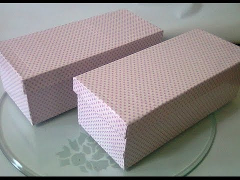 DIY #7   How To Wrap Your Shoebox ♥