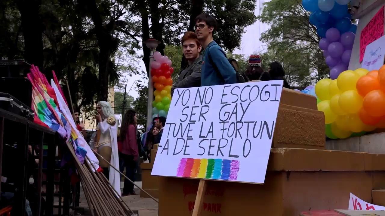 Marcha Del Orgullo Gay En Asuncion Youtube
