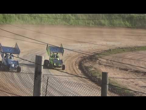 Paradise Speedway Brandyn Griffin 6/3/17 heat win