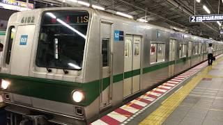 【晩年は朝夕のみの運用】東京メトロ千代田線6000系6102F 綾瀬駅発車