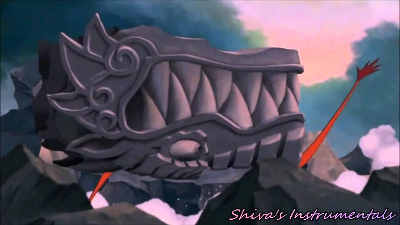 Mulan Fandub Mushu Breaks The Great Stone Dragon Me As Mushu Redo Youtube
