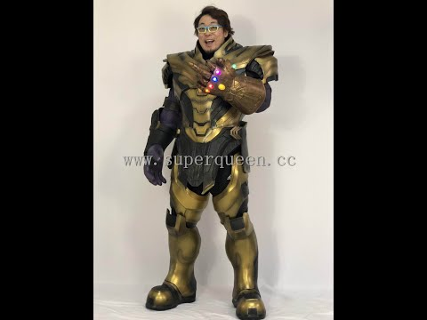 Avengers Endgame Cosplay Thanos Costume for Kids Party ...