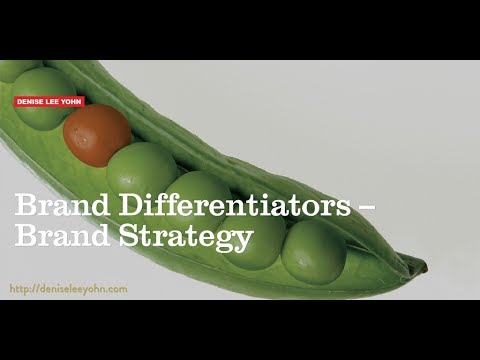 Brand Differentiators -- Brand Strategy