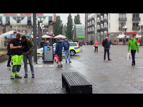 Un policier poignardé dans le centre de Stockholm