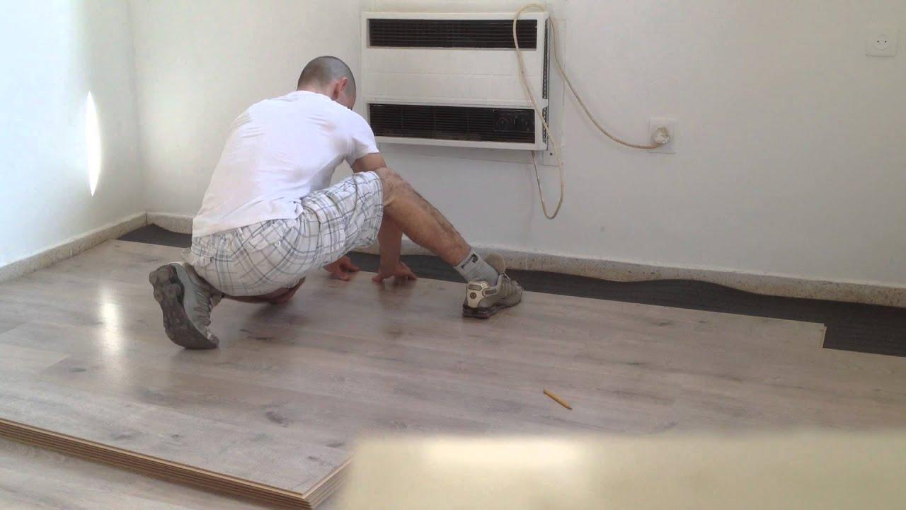Laminate floor installation youtube for Belgium laminate flooring