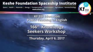 166th Knowledge Seekers Workshop April 6, 2017