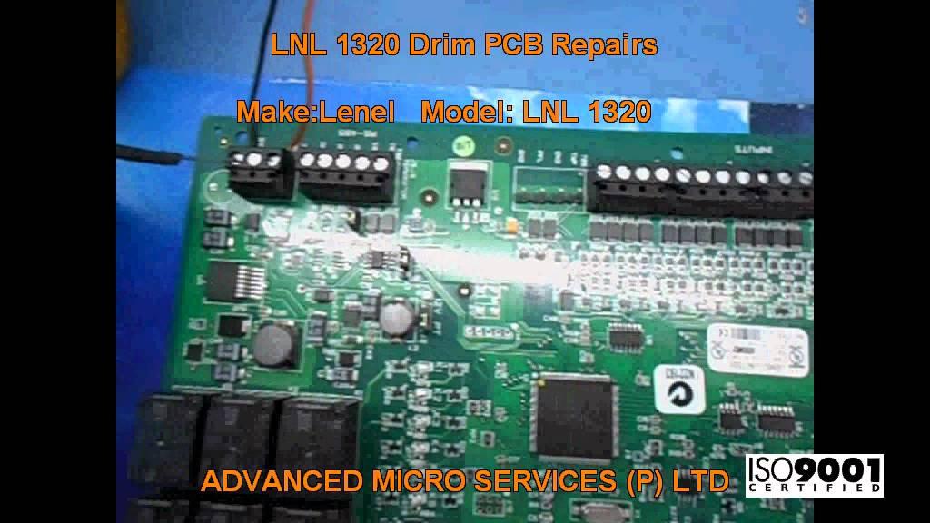 lenel lnl 1320 drim pcb repairs  advanced micro services