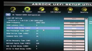 Asrock Z68 Extreme4 UEFI Bios