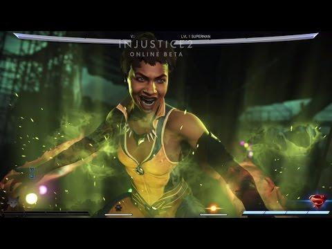 VIXEN INJUSTICE INTRO'S | PS4 Pro